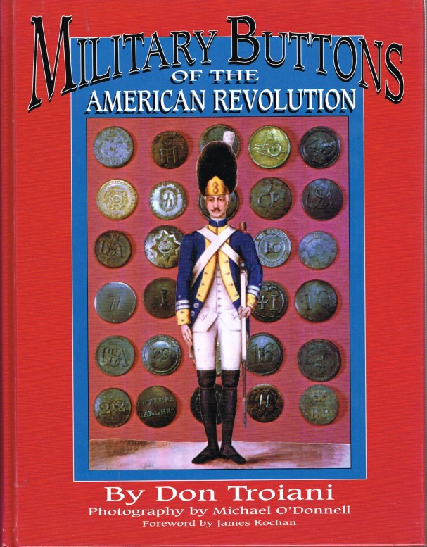 Image for MILITARY BUTTONS OF THE AMERICAN REVOLUTION