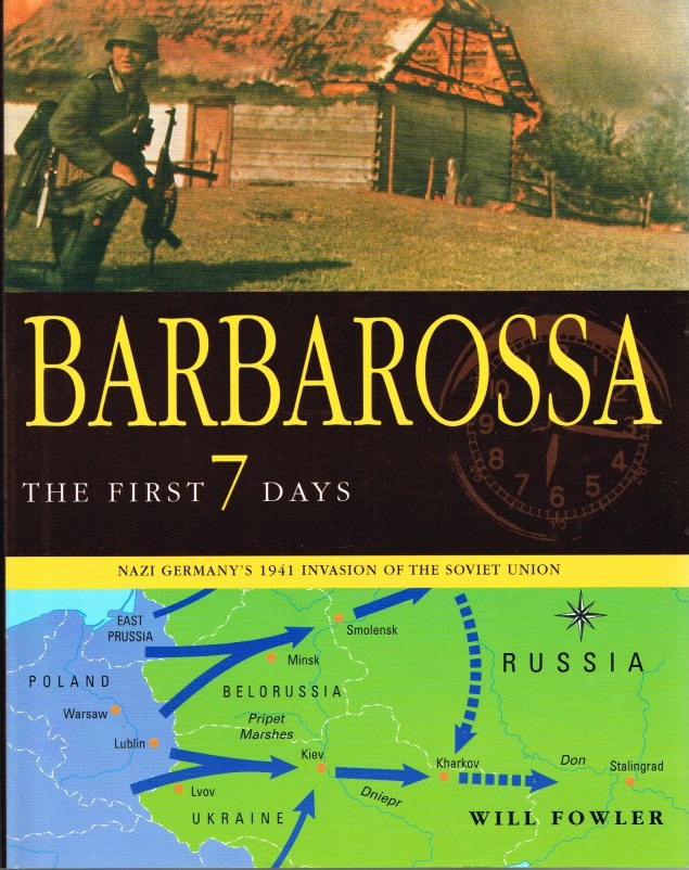 Image for BARBAROSSA: THE FIRST 7 DAYS