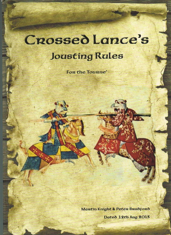 Image for CROSSED LANCES JOUSTING RULES FOR THE TOURNE'