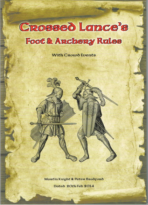 Image for CROSSED LANCES: FOOT & ARCHERY RULES - WITH CROWD EVENTS