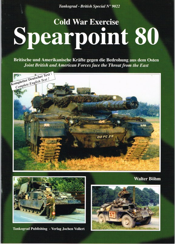 Image for COLD WAR EXERCISE SPEARPOINT 80: JOINT BRITISH AND AMERICAN FORCES FACE THE THREAT FROM THE EAST