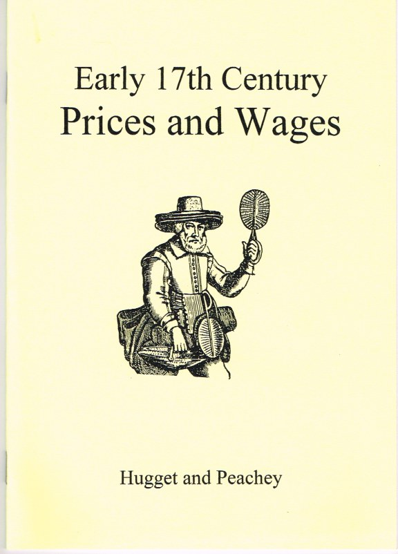 Image for EARLY SEVENTEENTH CENTURY PRICES AND WAGES 1630-1650