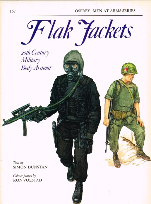 Image for FLAK JACKETS: 20TH CENTURY MILITARY BODY ARMOUR