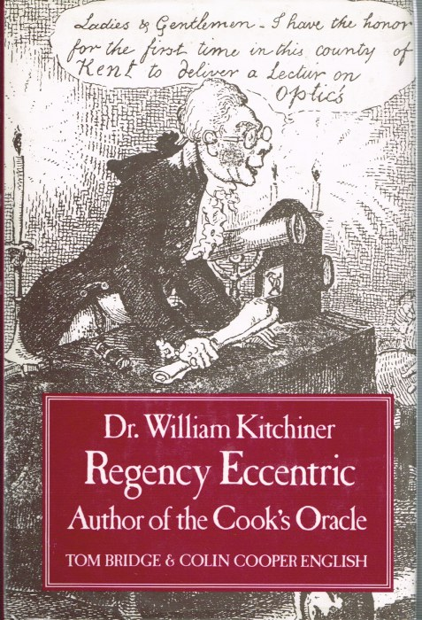 Image for DR WILLIAM KITCHINER, REGENCY ECCENTRIC