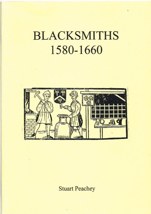 Image for BLACKSMITHS 1580-1660