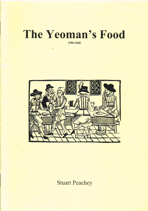 Image for THE YEOMAN'S FOOD 1580-1660