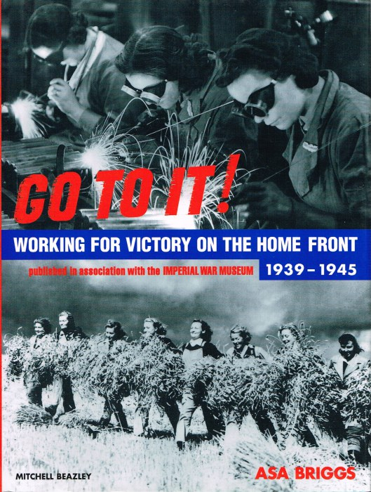 Image for GO TO IT! WORKING FOR VICTORY ON THE HOME FRONT 1939-1945