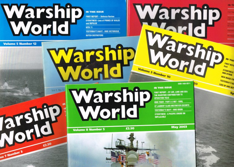 Image for WARSHIP WORLD - MAGAZINE (BACK ISSUES AVAILABLE)