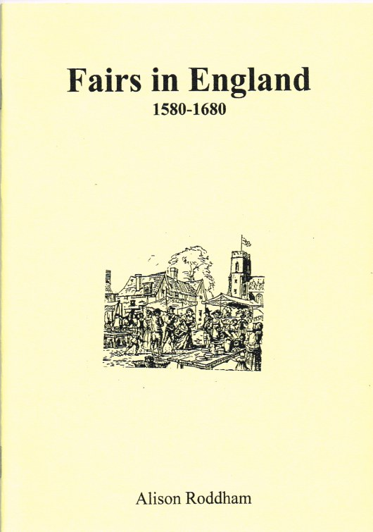 Image for FAIRS IN ENGLAND 1580-1680