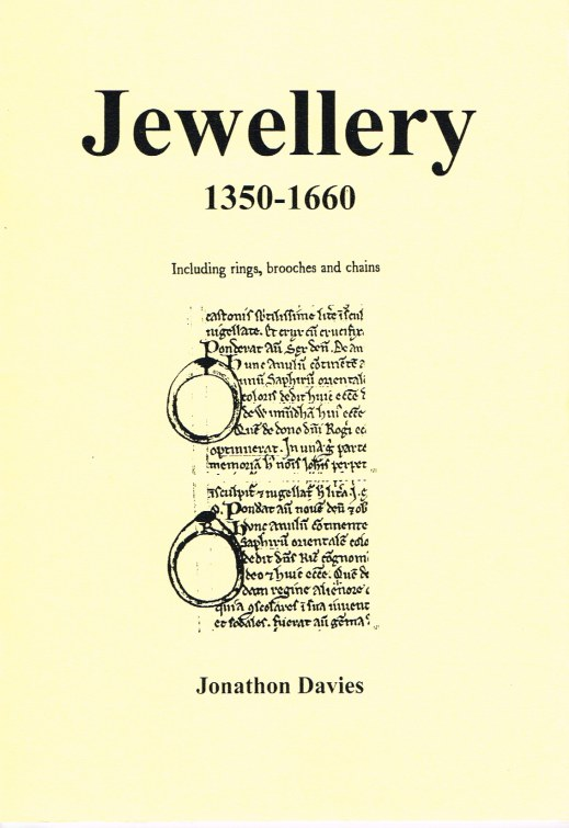 Image for JEWELLERY 1350-1660