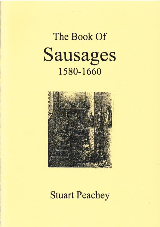 Image for THE BOOK OF SAUSAGES 1580-1660