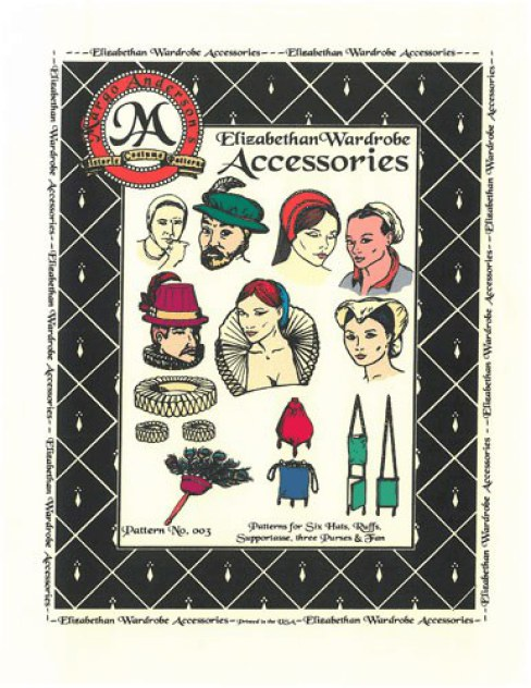 Image for PATTERN NO.003: THE ELIZABETHAN WARDROBE ACCESSORIES