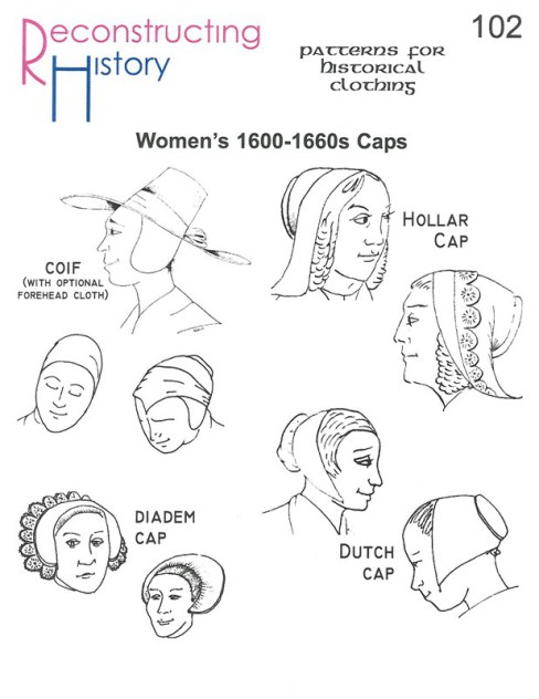 Image for RH102: WOMEN'S 1600 - 1660S CAPS