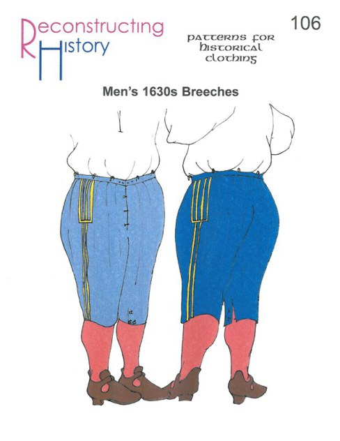Image for RH106: MEN'S BREECHES 1630S