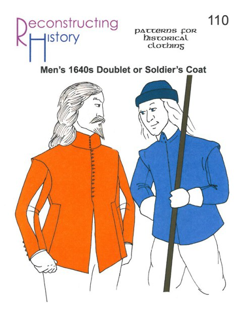 Image for RH110: MEN'S 1640'S DOUBLET OR SOLDIER'S COAT