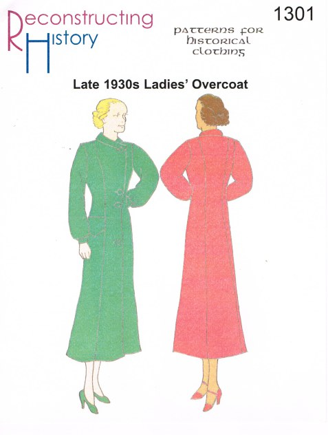 Image for RH1301: 1930S LADIES' OVERCOAT