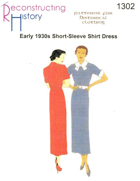 Image for RH1302: EARLY 1930S SHORT SLEEVE DAY DRESS