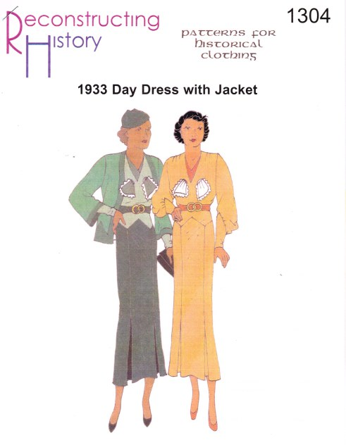 Image for RH1304: 1933 DAY DRESS WITH JACKET