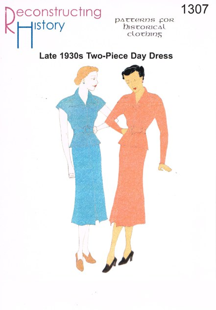 Image for RH1307: LATE 1930S 2-PIECE DAY DRESS