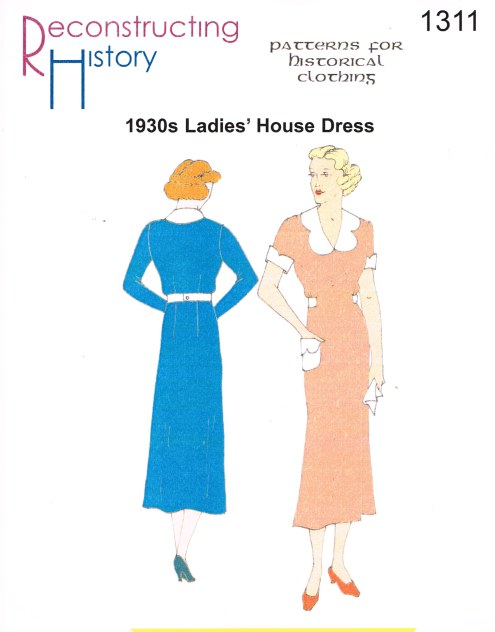 Image for RH1311: 1930S HOUSE DRESS