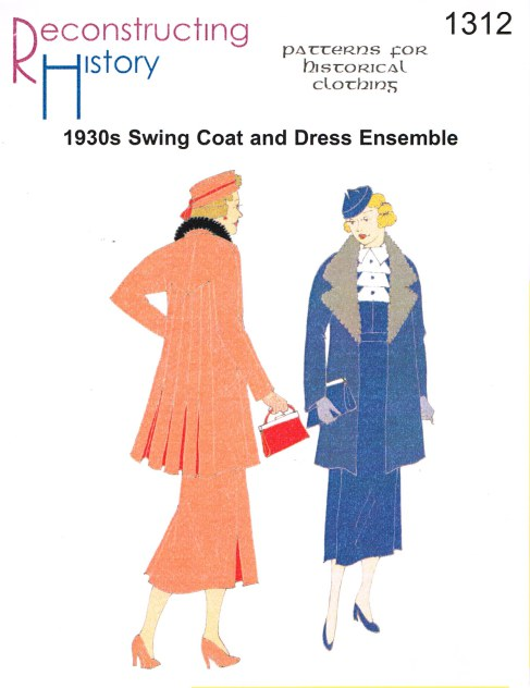 Image for RH1312: 1930S ONE-PIECE DRESS AND SWING COAT ENSEMBLE