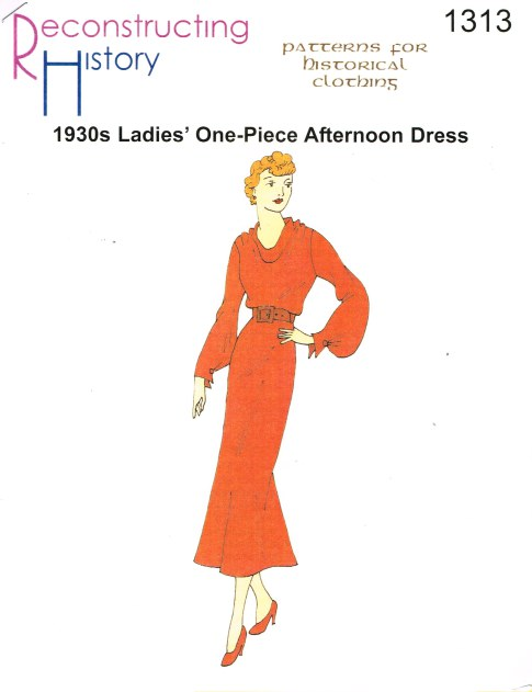 Image for RH1313: 1930S ONE-PIECE AFTERNOON DRESS