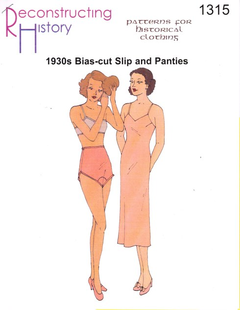 Image for RH1315: 1930S BIAS-CUT SLIP AND TAP PANTS
