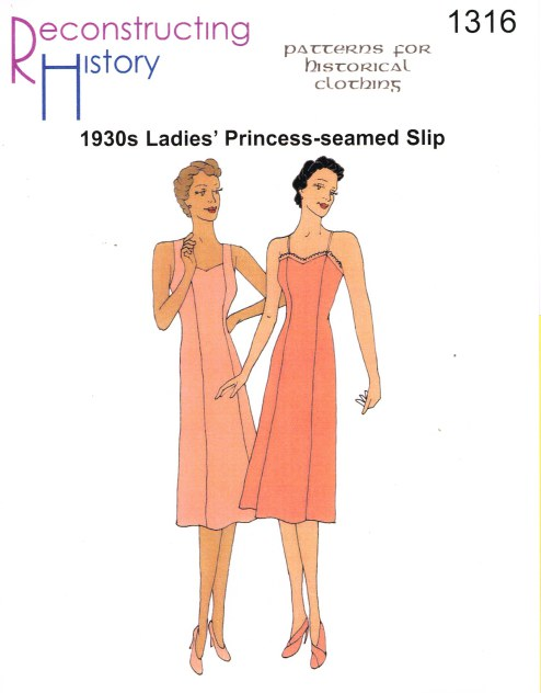 Image for RH1316: 1930S PRINCESS SEAMED SLIP