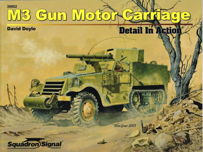 Image for M3 GUN MOTOR CARRIAGE DETAIL IN ACTION
