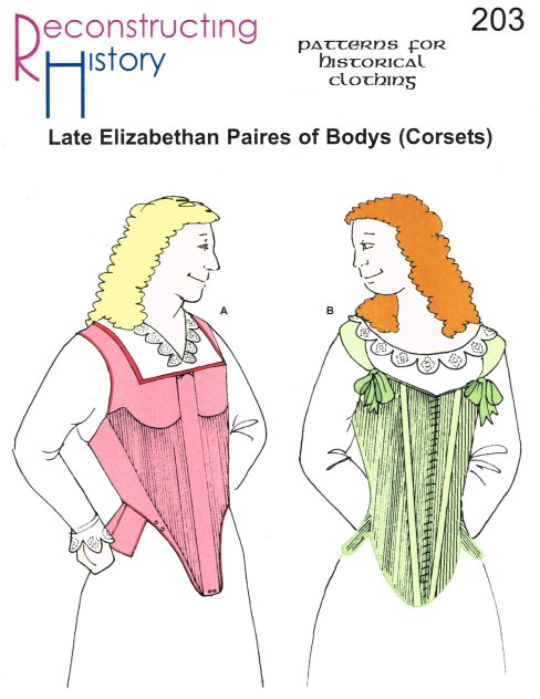 Image for RH203: LATE ELIZABETHAN PAIRE OF BODYS (CORSETS)