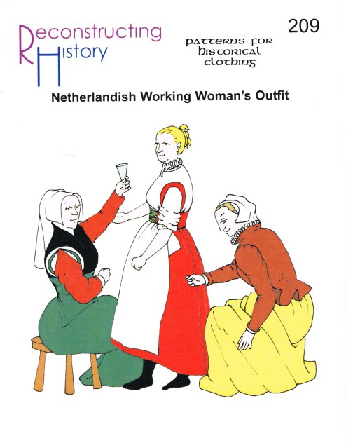 Image for RH209: NETHERLANDISH WORKING WOMAN'S OUTFIT