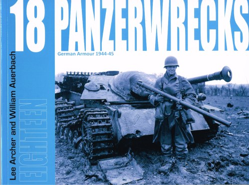 Image for PANZERWRECKS 18: GERMAN ARMOUR 1944-45