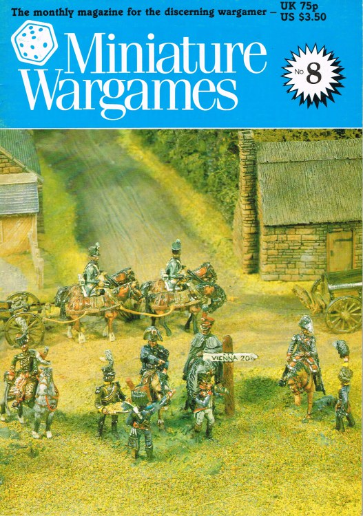 Image for MINIATURE WARGAMES NO. 8