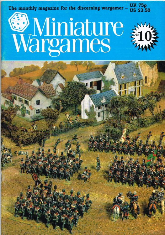 Image for MINIATURE WARGAMES NO. 10