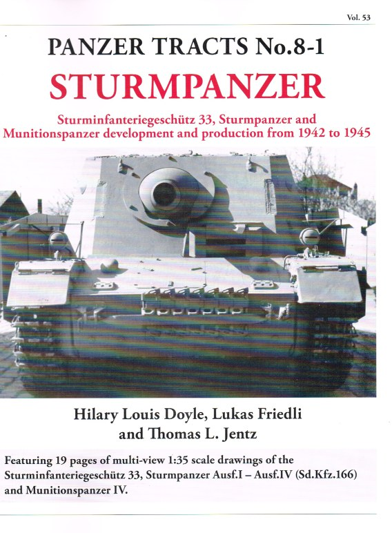 Image for PANZER TRACTS NO. 8-1: STURMPANZER