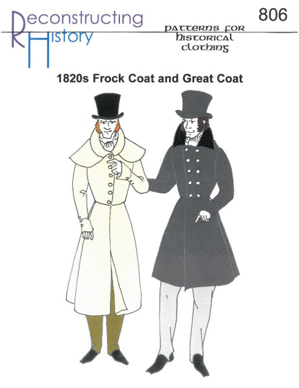 Image for RH806: 1820S FROCK COAT AND GREAT COAT