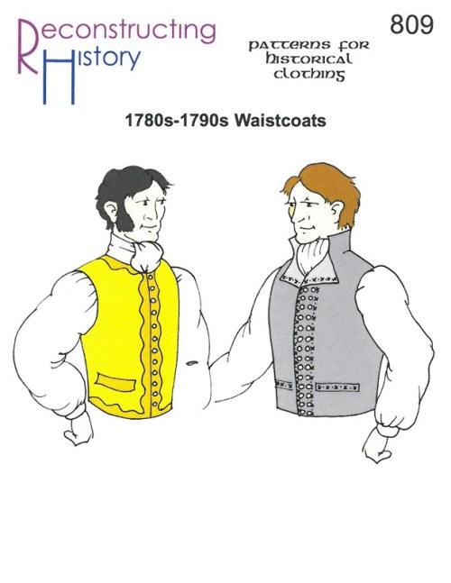 Schnittmuster RH 819 1780s Chemise Dress