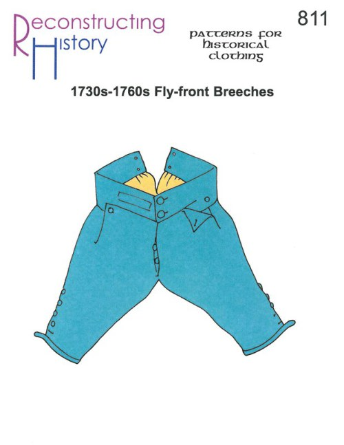 Image for RH811: 1730S - 1760S FLY-FRONT BREECHES