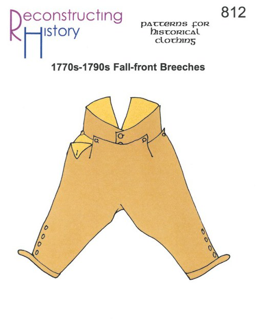 Image for RH812: 1770S - 1790S FALL-FRONT BREECHES