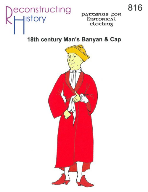 Image for RH816: 18TH CENTURY MAN'S BANYAN AND CAP