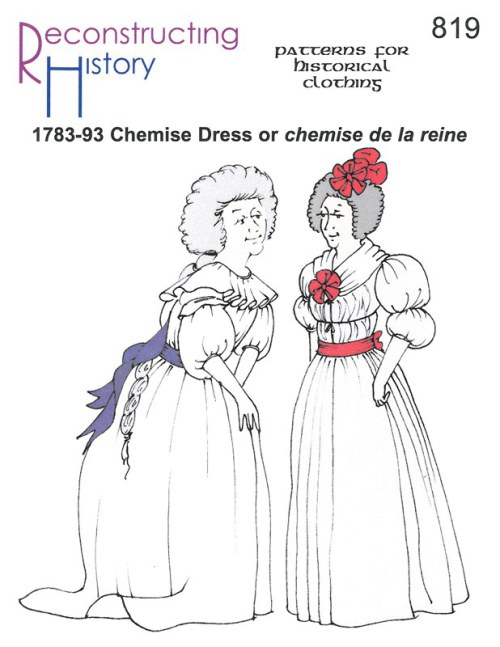 Image for RH819: 1783 - 93 CHEMISE DRESS OR 'CHEMISE DE LA REINE'
