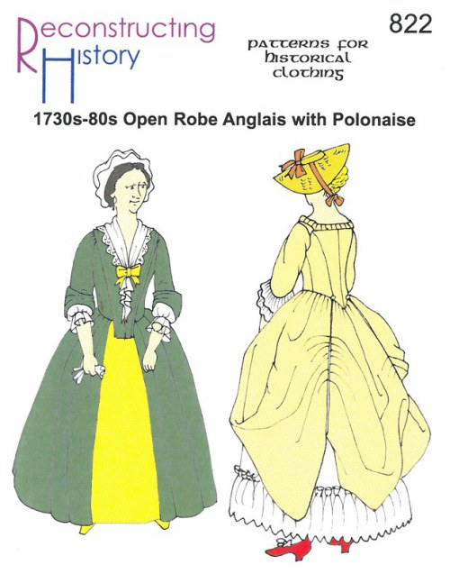 Image for RH822: 1730S-80S OPEN ROBE ANGLAIS WITH POLONAISE OPTION