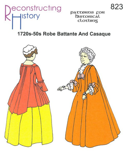 Image for RH823: 1720S - 50S ROBE BATTANTE AND CASAQUE