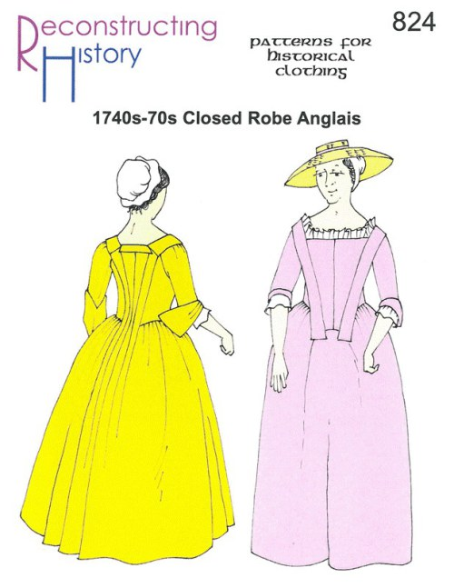 Image for RH824: 1740S-70S CLOSED ROBE ANGLAIS