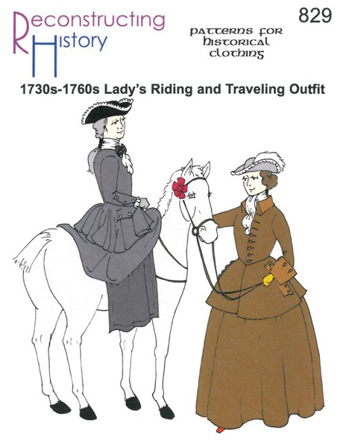 Image for RH829: 1730S - 1760S LADY'S RIDING & TRAVELING OUTFIT