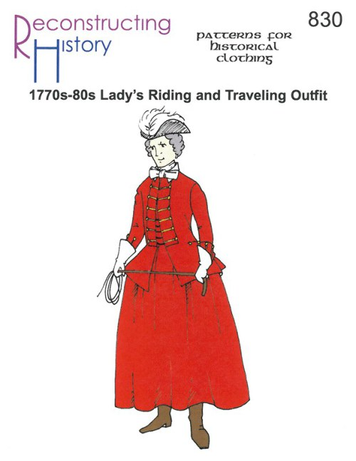Image for RH830: 1770S - 1780S LADY'S RIDING & TRAVELING OUTFIT