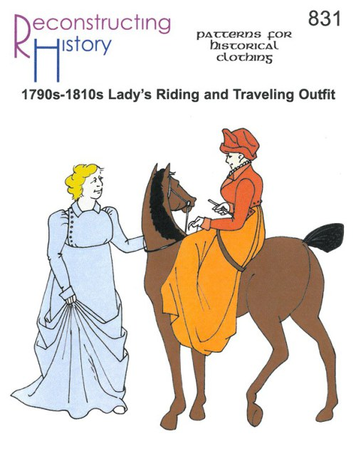 Image for RH831: 1790S - 1810S LADY'S RIDING & TRAVELING OUTFIT
