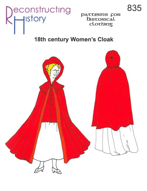 Image for RH835: 18TH CENTURY WOMEN'S CLOAK