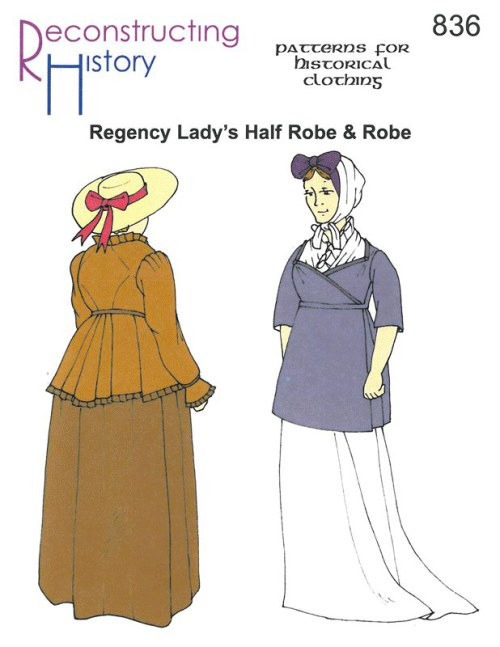 Image for RH836: REGENCY LADY'S HALF ROBE & ROBE