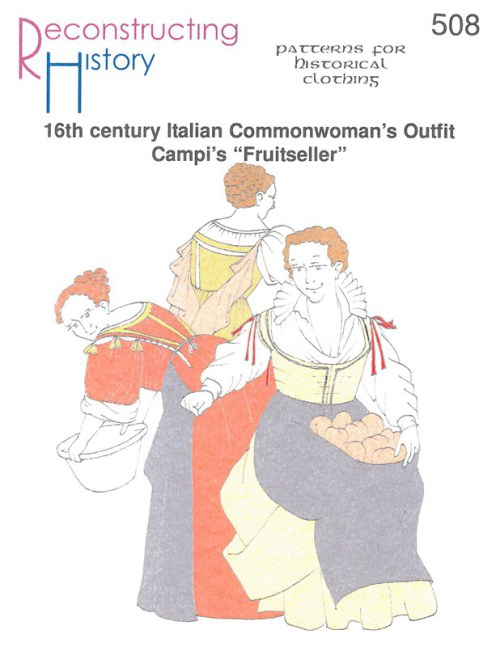 "Image for RH508: 16TH CENTURY ITALIAN COMMONWOMAN'S OUTFIT - CAMPI'S ""FRUITSELLER"""